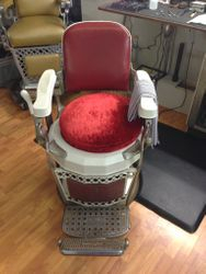 Barber chair-before