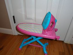 Just Like Home Ironing Board Playset - $9