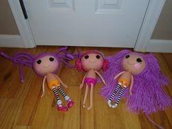 Lalaloopsy Dolls- 3 - $30