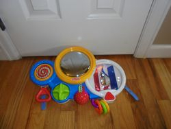Fisher Price Soothe & Amuse Crib Mirror - $15
