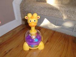 Playskool Poppin Park Giraffalaff Tumble Top - $15