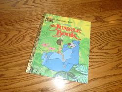 The Jungle Book Little Golden Book - $3