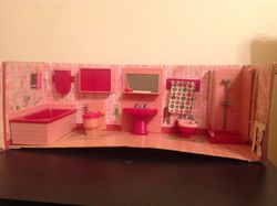 Modella Bathroom set 70's