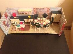 Modella Dinning room set 70's