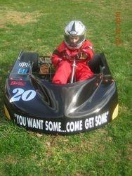 New kart for 2010 season