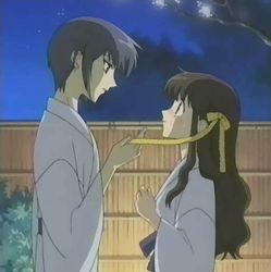 Yuki gave me this Ribbon as a White Day present