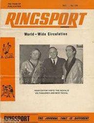 Ringsport Wrestling Magazine