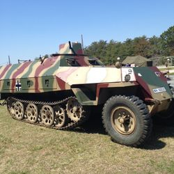 German Halftrack