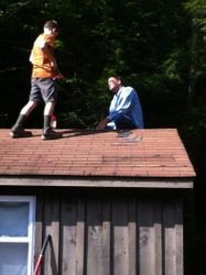 No more hole in the roof