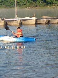 Sterling the kayak master