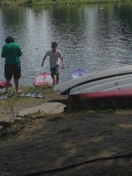 Mikey the paddleboarder