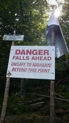 Raquette Falls portage