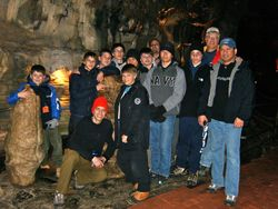 Howe Caverns 3/09