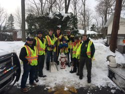 Clearing Hydrants with NHFD