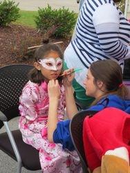 Face Painting at Agape Lexington!