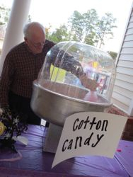 This Resident made fresh Cotton Candy