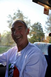 Robbo - on the bus....