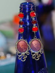 Jules Verne Earrings