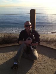 Benni and I in Laguna Beach, December 27th, 2013