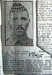 Pte James Young