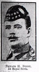 Pte H Duffy