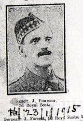 Sgt J Forrest