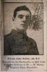Pte John Mabon