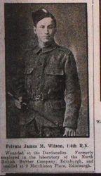 Private James L Wilson