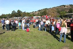 Crowd At Airfield