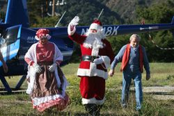 Santa, Mrs. & Randy