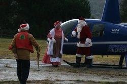 Randy Greeting Santa & Mrs. Claus
