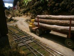 S Bedford logging truck