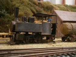 0n30 scratchbuilt PWD Fowler loco