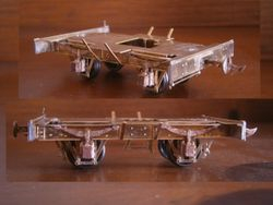MMW 0n30 N wagon chassis etch