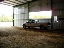 Overhang Storage @ North end of Arena Barn.
