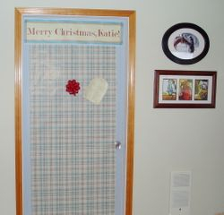 Laundry Room Door - Make Over Day!