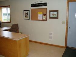 Desk & Wall after make over!