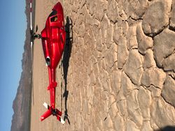 Hawk 30 Nitro in Bell 222 body - Candy Apple Red