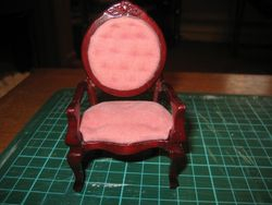 Cheap Chair Makeover - before