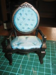 Cheap Chair Makeover  - after