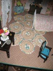crochet dressing table mat