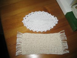 crochet rugs made by me