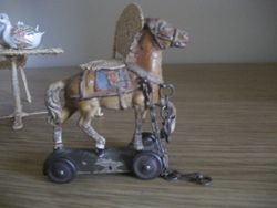 Love this horse on wheels.