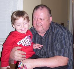 Jayhew Squires Jr. and Great Grandson Collin Lee Hiss