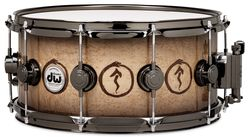 Neil Peart DW signature snare