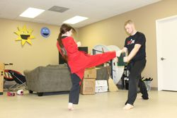 Tae Kwon Do Board Breaking