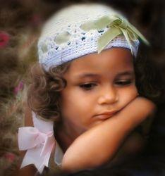 Milena is sad...