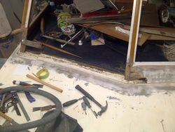 Window base repair