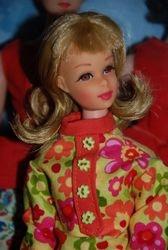 Childhood Francie restored by Krista, in OOAK mini dress