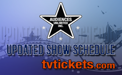 Show Schedule available now!